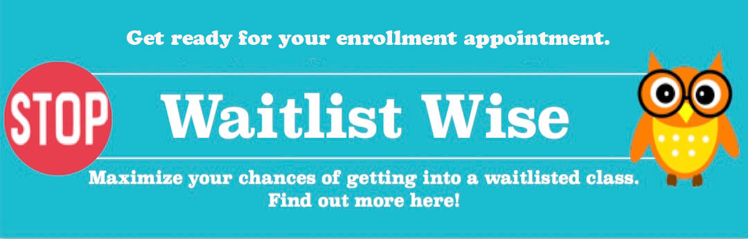 Information on waitlists during enrollment