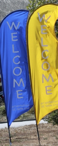 UCSC Orientation banners